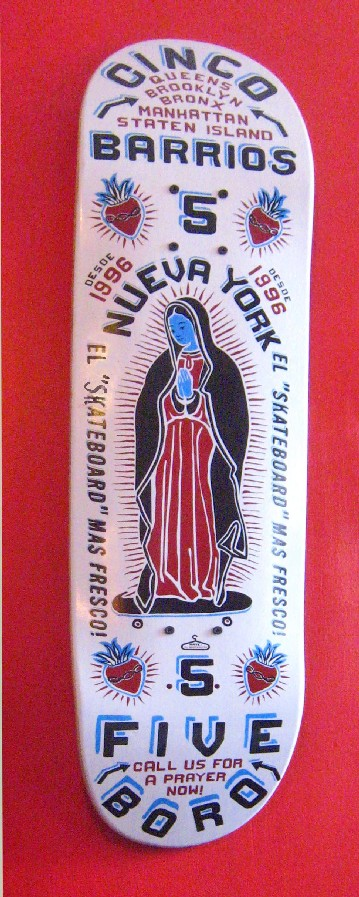 Our Lady of Guadalupe @ Mexican cafe, Williamsburg