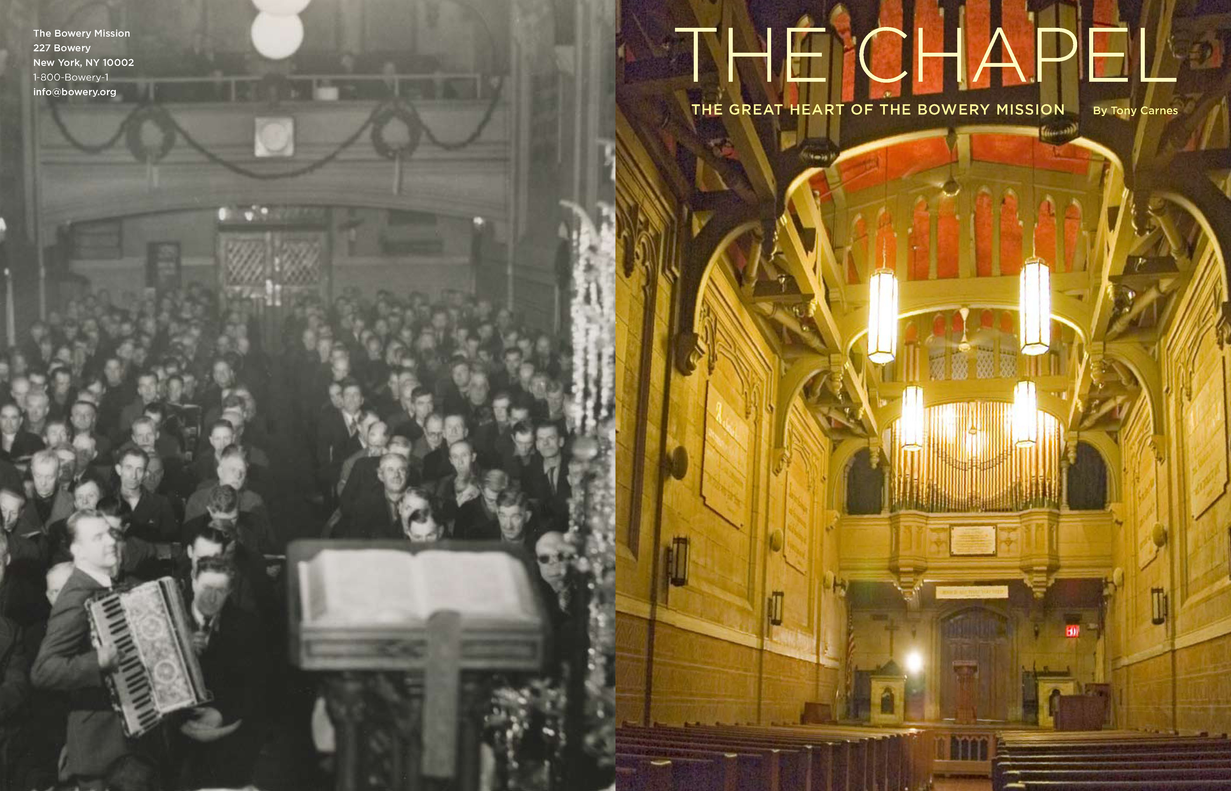 100 Years at The Bowery Mission Chapel