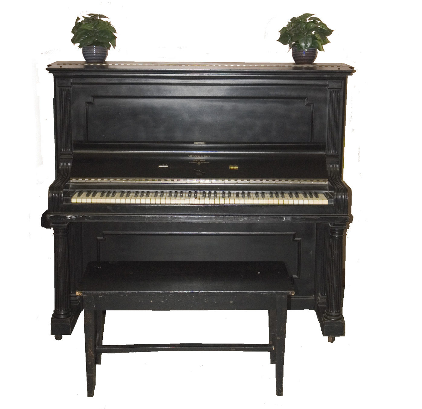 NYC hymn writer Fanny Crosby's piano left over from the 19th Century evangelical resurgence. @Bowery Mission