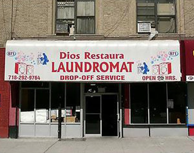 Restoring laundry and the soul in the Bronx. Photo: David Gonzalez/New York Times, edited