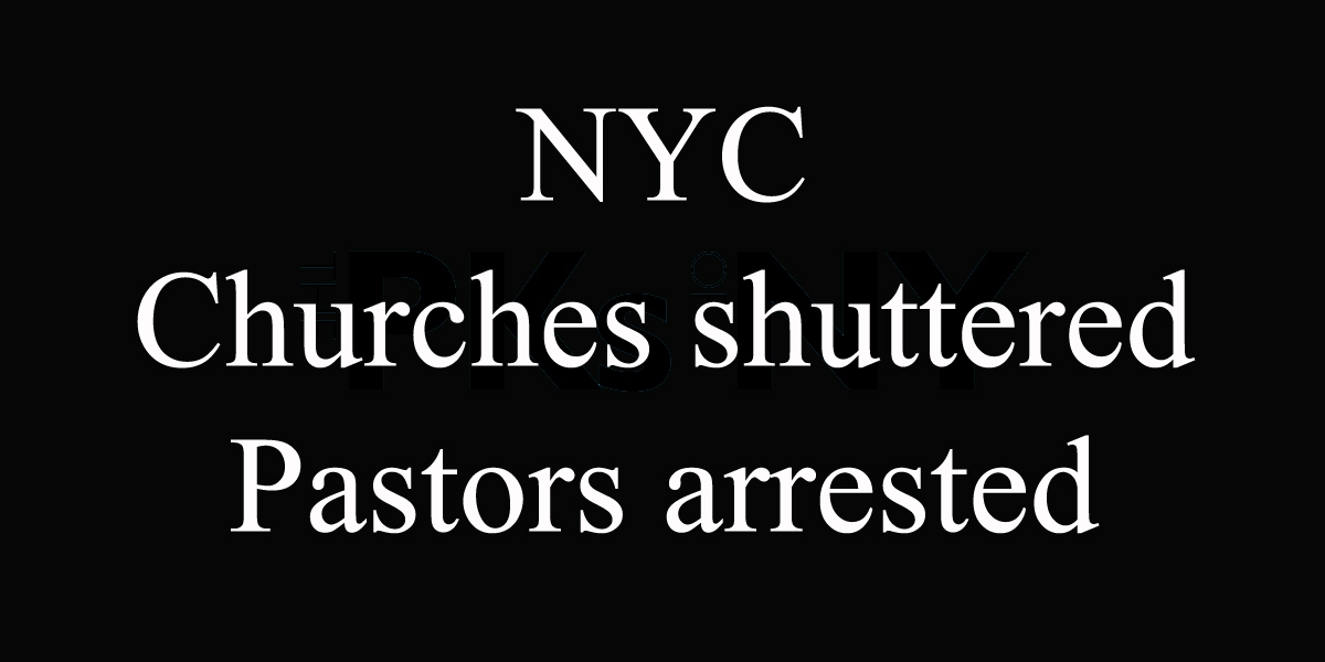 Churches Shuttered