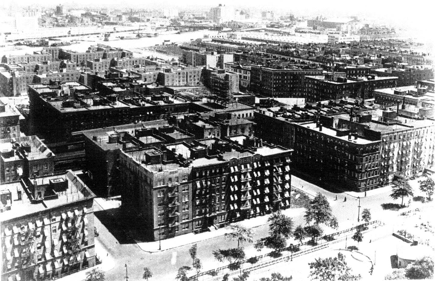 Harlem Aerial, 1930s. Photo: Unknown