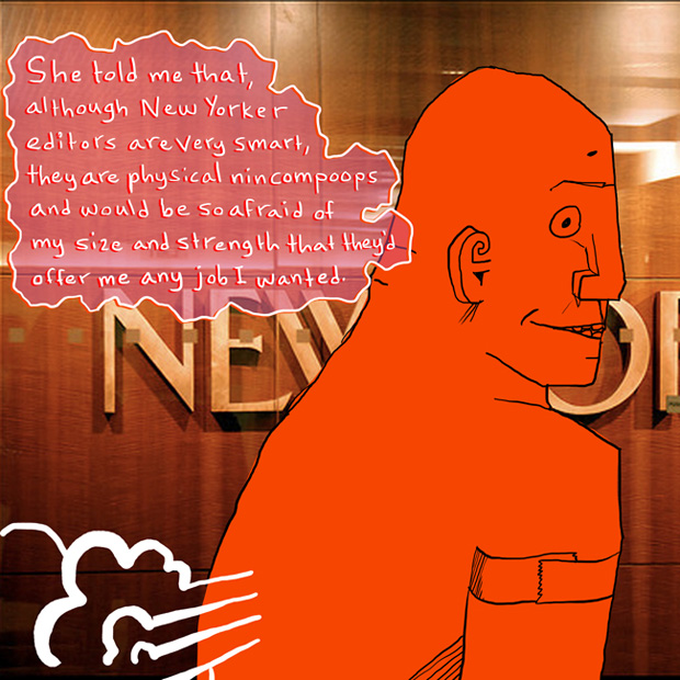 Golem fact-checker at The New Yorker