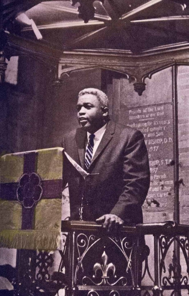 Robinson spoke at many churches and synagogues about civil rights, Biblical values and helping the needy.