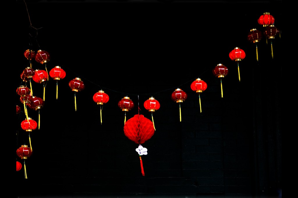 Chinese lanterns in Chinatown. Photo: Tony Carnes/A Journey through NYC religions