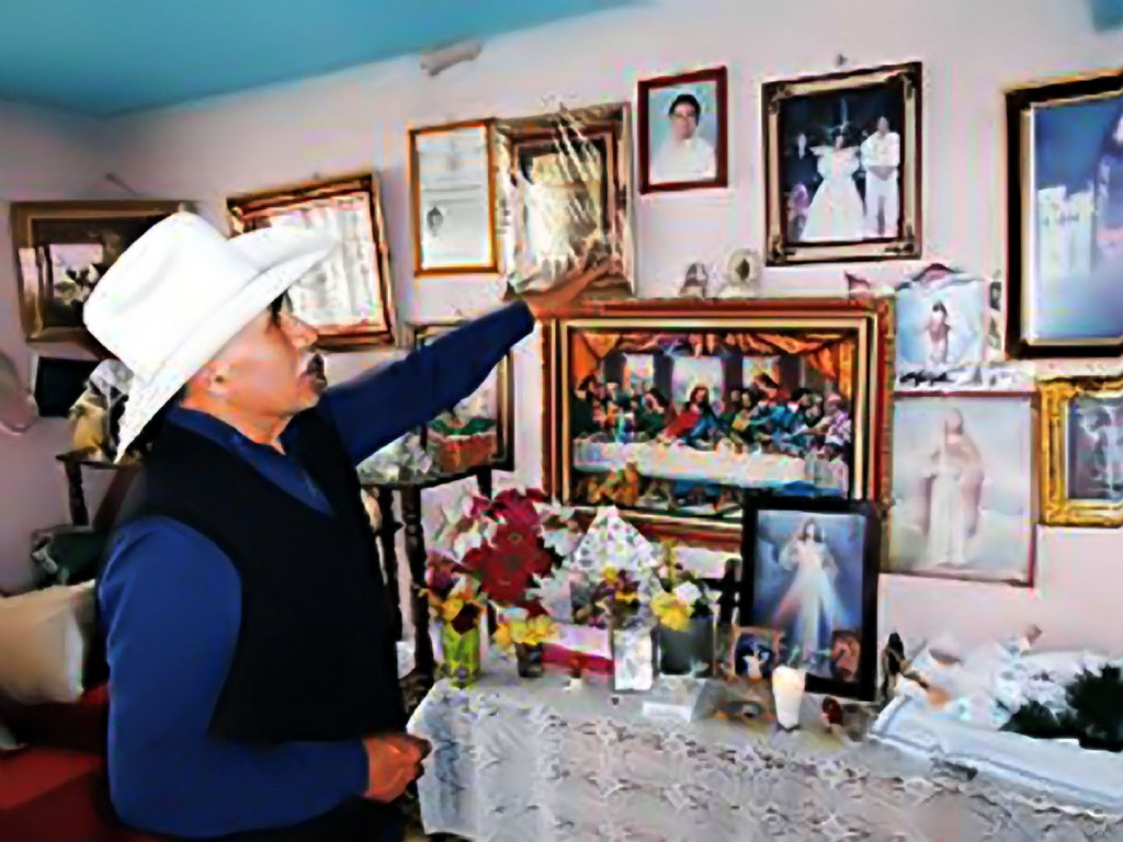 Fernando Barrios remembers his daughter and granddaughter as he awaits for their bodies to arrive from New York City.