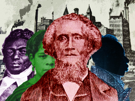 African Americans in Williamsburg & Greenpoint used faith-based leadership to overcome industrialists & others who opposed abolition of slavery.