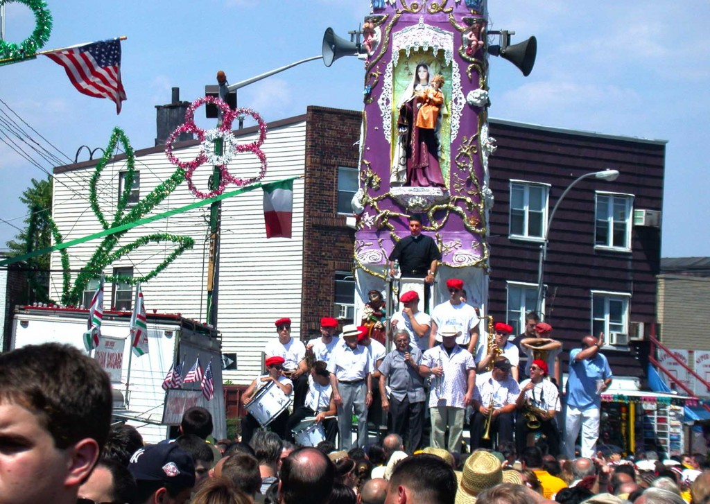 Giglio Festival. Photo: A Journey through NYC religions