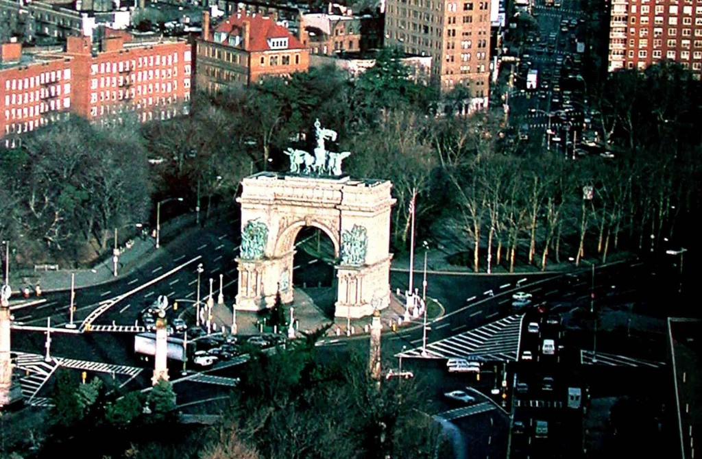 Grand Army Arch, Crown Heights, Brooklyn