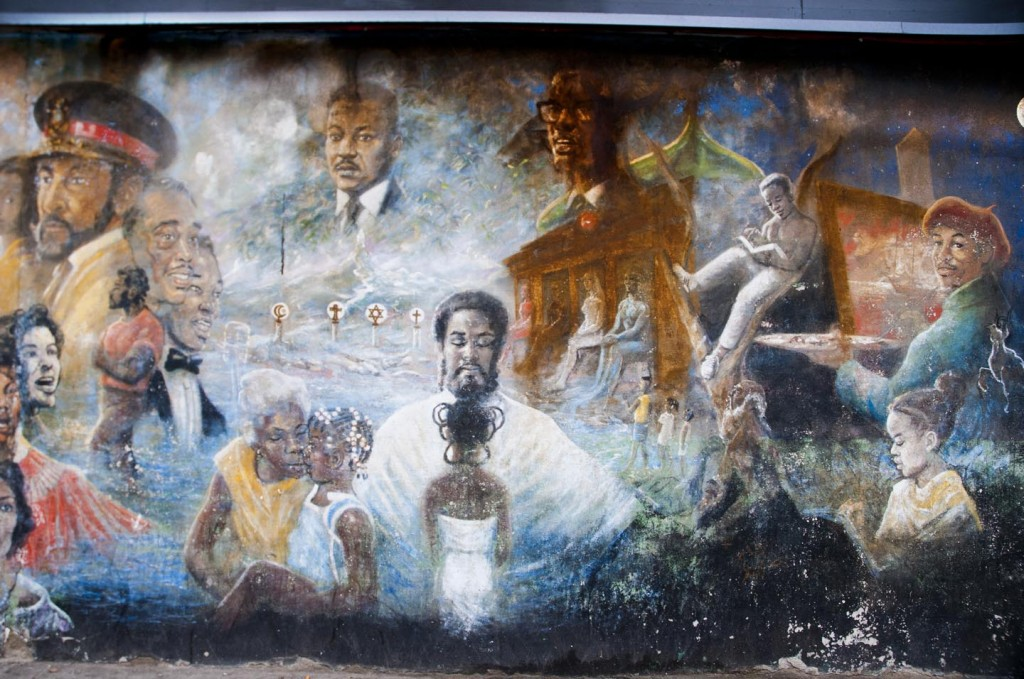 Street Art, Crown Heights. Photo: Tony Carnes/A Journey through NYC religions