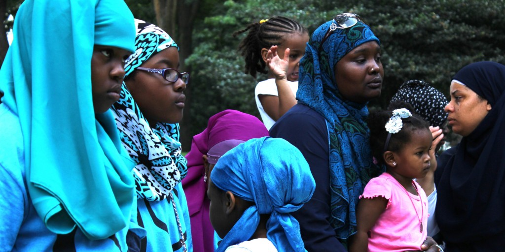 I Love Islam summer camp hosted by Muslims on the Move. Photo: Pauline Dolle/A Journey through NYC religions