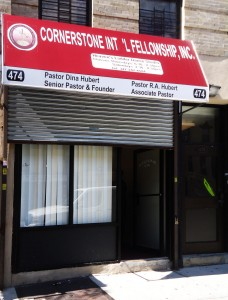 Cornerstone International Fellowship is one of 24 churches on Ralph Avenue in Crown Heights, Brooklyn