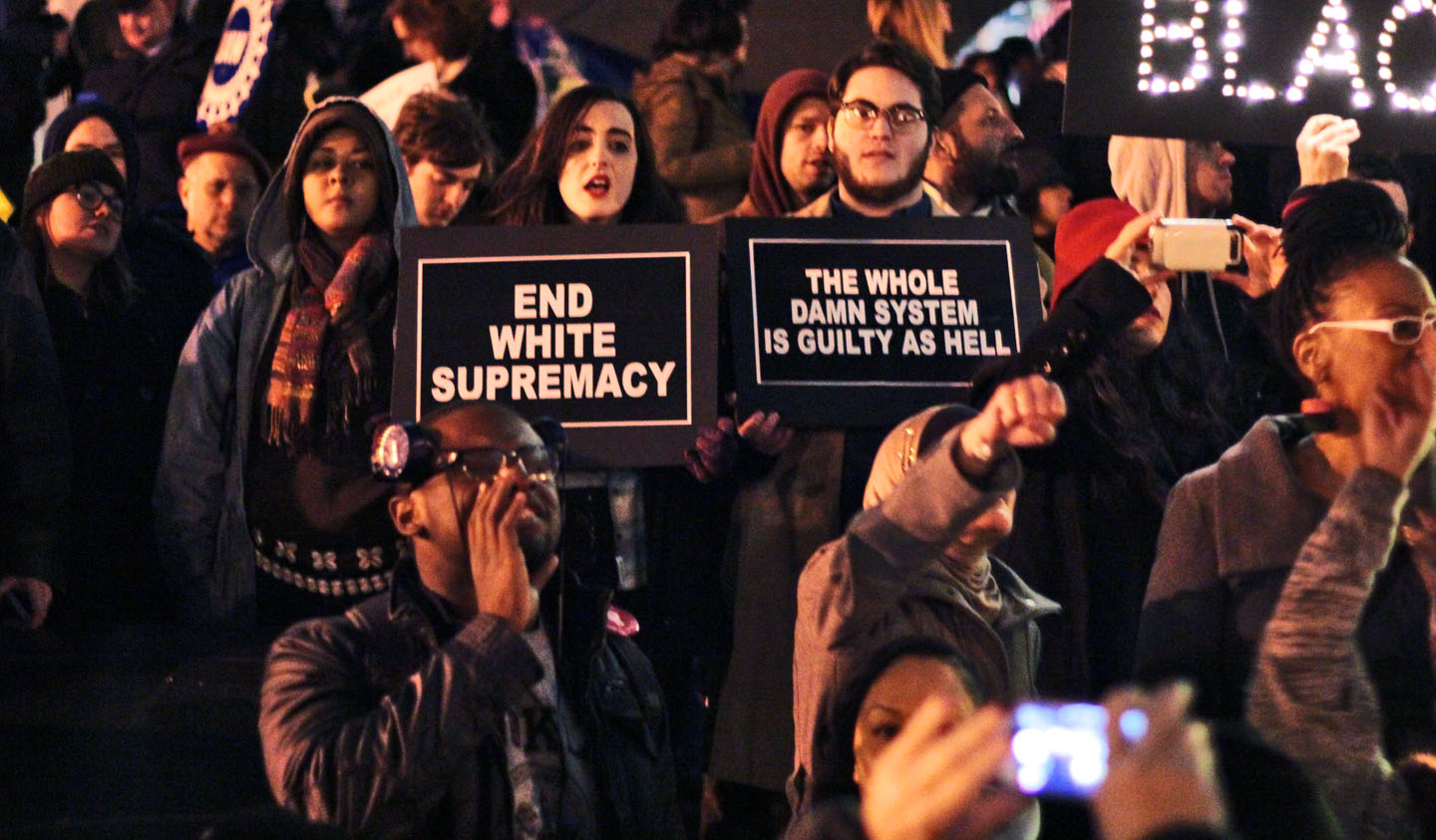 Facing north from middle of Foley Square. Photo: Pauline Dolle/A Journey through NYC religions