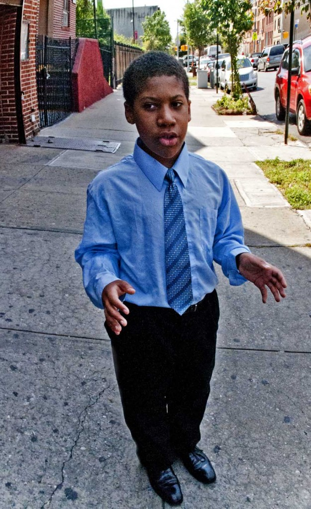 Malachi Townsend at United Baptist Church, Crown Heights, Brooklyn. Photo: Tony Carnes/A Journey through NYC religioins