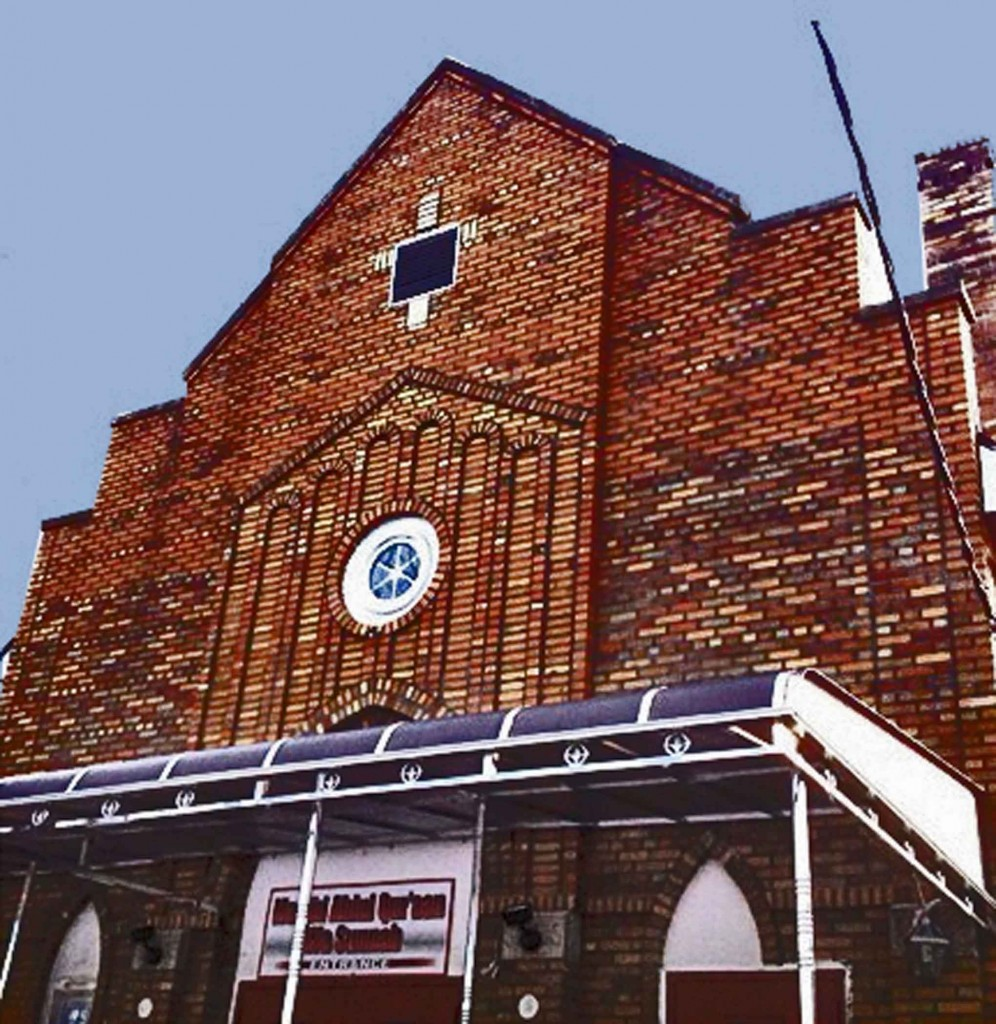 Masjid Ahlul Quraan Wa Sunnah's building used to be a church. Photo provided by Masjid