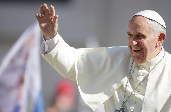 Pope Francis ticket giveaway