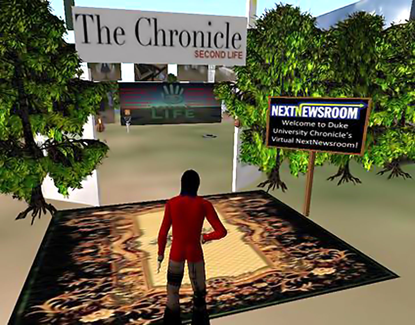 News in Second Life