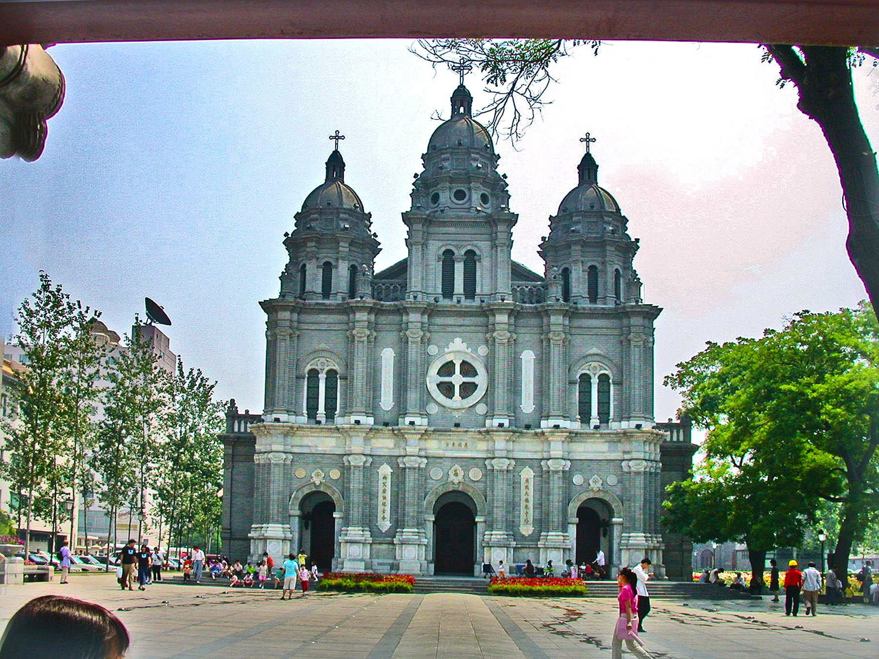 Officially approved Catholic church in Beijing, China. Photo: Tony Carnes/A Journey through NYC religions
