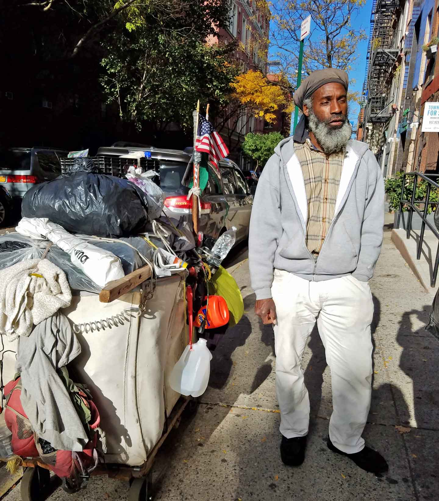 Tony McCrow speaks with elegance about Thanksgiving and the Islamic faith.
