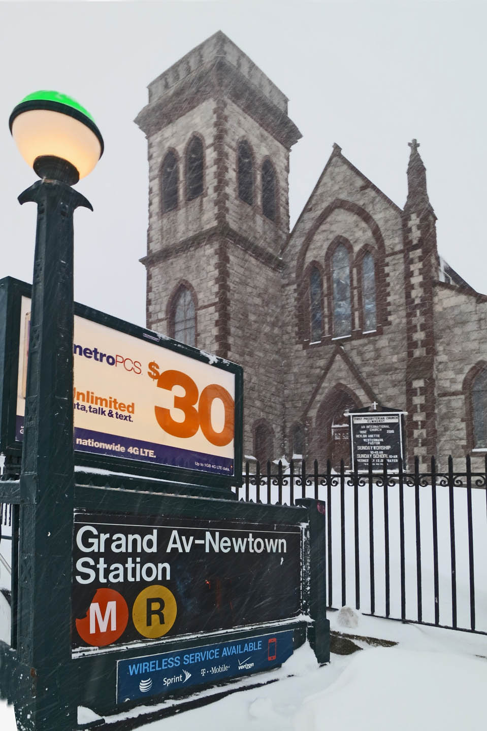First Presbyterian Church, Elmhurst, Queens › A Journey through NYC