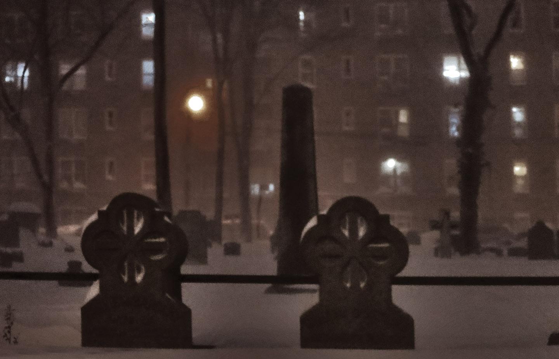 Graveyard, St  James Episcopal Church, Elmhurst, Queens Photo: Tony
